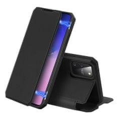Dux Ducis Skin X knížkové kožené pouzdro na Samsung Galaxy S10 Lite, černé