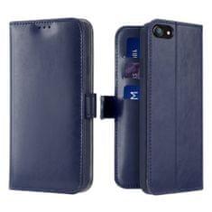 Dux Ducis Kado knížkové kožené pouzdro na iPhone 7/8/SE 2020, modré