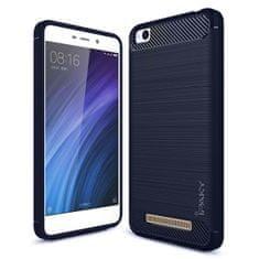 iPaky silikonski ovitek Slim Carbon Flexible TPU za Xiaomi Redmi 4A Modra