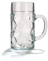 """Pivní sklo """"Isar"""" 0,5 l cejch, 6 ks"""