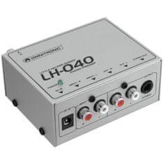 Omnitronic LH-040, gramofonní predzosilňovač