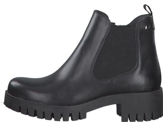 s.Oliver dámská kotníčková obuv 25427 36 černá