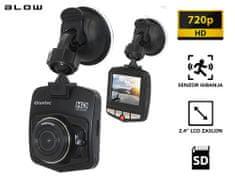 Blow Blackbox DVR F270 avto kamera, HD 720p, foto 5 MP, širok kot 140°, senzor gibanja