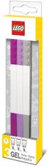 LEGO Gel pisala, mix DIF barev - 3 kosi