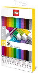 LEGO Gélové Perá, mix farieb - 12 ks