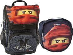 LEGO Ninjago KAI of Fire Maxi školski ruksak, 2 djelni set