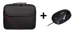 Port Designs S15 Clamshell torba za prenosnik + žična miška
