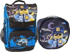 LEGO City Police Cop Maxi - školská aktovka, 2 dielny set