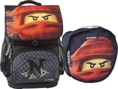 LEGO Ninjago KAI of Fire Optimo - školní aktovka, 2 dílný set