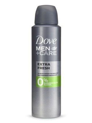 Dove Extra Fresh dezodorans bez aluminija za muškarce, 150 ml