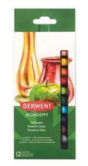 """DERWENT Olejové křídy """"Academy"""", 12 různých barev"""