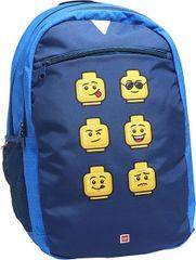 LEGO Faces Blue ruksak Extended