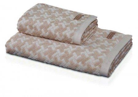 Möve SPA kopalna brisača z vzorcem ploščic 80 x 150 cm naravna +