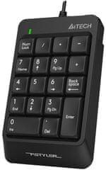 A4Tech klawiatura numeryczna FStyler FK13P (FK13P)