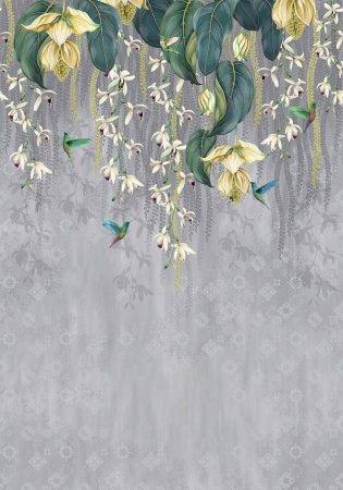 OSBORNE & LITTLE Ozadje TRAILING ORCHID 02 iz kolekcije FOLIUM