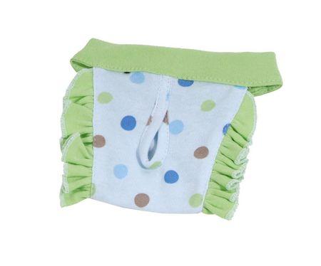 Kraftika Pies majtki dottie (wyprzedaż) - niebieski/zielony xxs