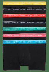 Calvin Klein 7 pack pánských boxerek NB2318A Trunk 7PK