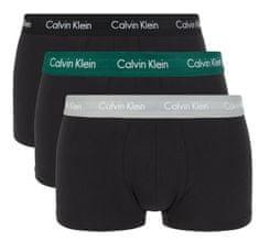Calvin Klein trojité balení pánských boxerek U2664G Low Rise Trunk 3PK