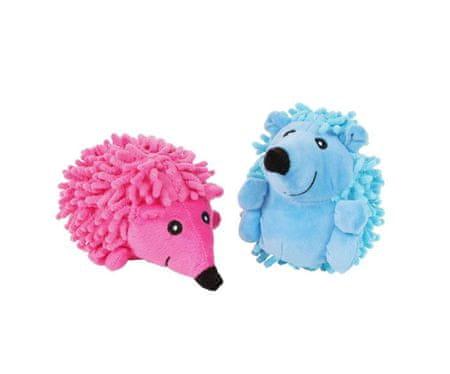 Kraftika Skrzypiący pluszowy pies zabawka – jeż, plusz, sznurek