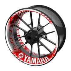 M-Style  jednodílné polepy na kola YAMAHA MT-07