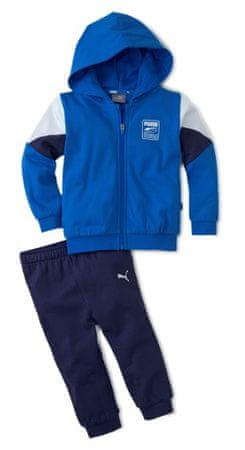 Puma Minicats Rebel Jogger komplet trenirke za dječake, plavi, 80