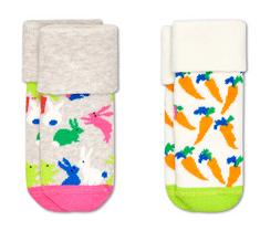 Happy Socks dětské ponožky 2-Pack Kids Bunny Terry Socks