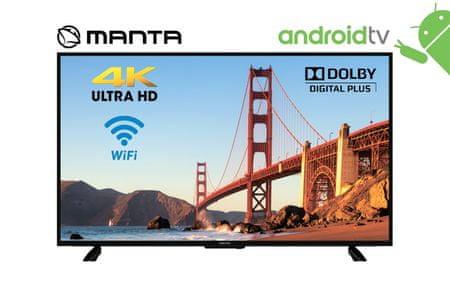 Manta 4K UHD 55LUA120D LED televizor, Smart, Android