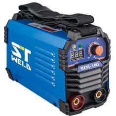 Strend Pro Invertorová svářečka 160HA, 230V, 160A ST WELDING Mini 116103