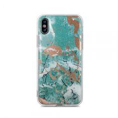 Marmor ovitek za iPhone 11, silikonski, zelen