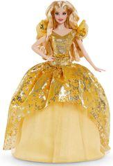 Mattel Barbie Blondinka božična lutka