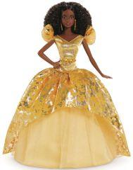 Mattel Barbie Vánoční panenka Černoška