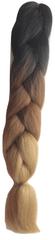 Vipbejba Lasni podaljški za pletenje kitk, C14 brown mix