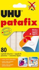 UHU Patafix lepilne blazinice, 80/1, bele
