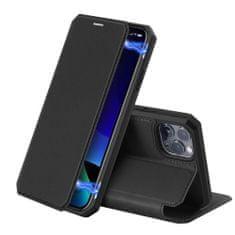 Dux Ducis Skin X knížkové kožené pouzdro na iPhone 11 Pro Max, černé