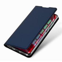 Dux Ducis Skin Pro knížkové kožené pouzdro na Xiaomi Redmi Note 8 Pro, modré