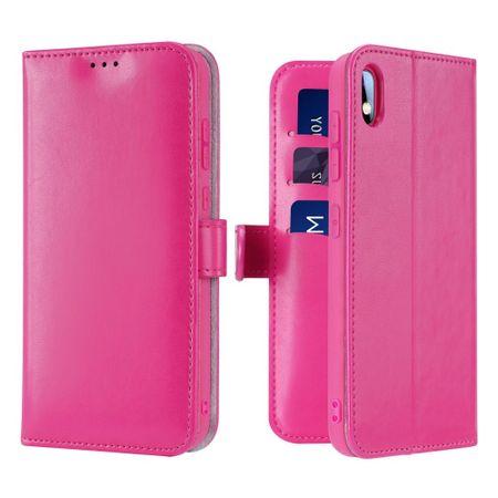 Dux Ducis Kado bőr könyvtok Samsung Galaxy A10, rózsaszín