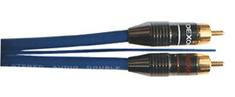 DEXON  Signálový kábel 2x Cinch (RCA) / 2x Cinch (RCA) sa spínacím vodičom