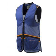 Beretta Střelecká vesta Full Mesh - modrá, Beretta * Barva: Modrá, Velikost: 2XL