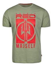 Double Red DR 20281 Tričko MAJSELF, olive - pánské, Double Red Velikost: XL