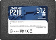 """Patriot P210, 2,5"""" - 512GB"""