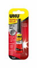 UHU Super Glue Jumbo lepilo, sekundno, 3 ml
