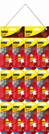 UHU Super Glue Jumbo lepilo, gel, sekundno, 2 g