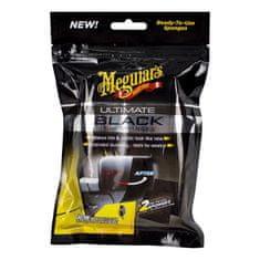 Meguiar's navlažene gobice za obnovo plastičnih delov Ultimate Black Trim Sponge, 2/1