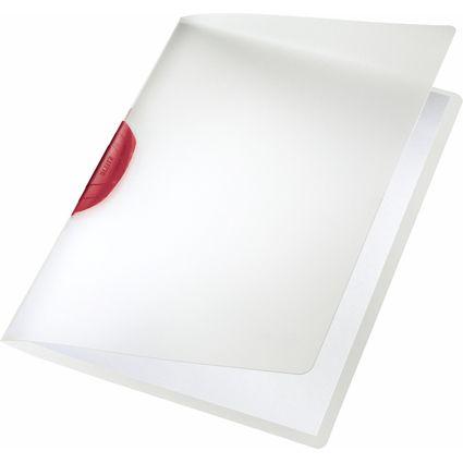 Leitz spenjalna mapa A4 PP, rdeča