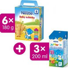 Nestlé Baby sušenky 6x180g