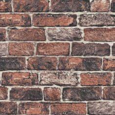Graham & Brown Papírová tapeta Cihly, cihlová stěna 102834, Fresco Red Brick Wall, Kids@Home 6, Graham & Brown