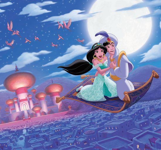 Graham & Brown Dětská vliesová obrazová tapeta Disney, Alladin - Magic Carpet Ride, 111388, 300 x 280 cm, Kids@Home 6, Graham & Brown