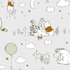 Graham & Brown Dětská papírová tapeta, medvídek Pů, 108594, Winnie The Pooh Up, Up and Away, Kids@Home 6, Graham & Brown