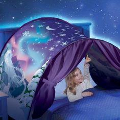 Stan nad postel - noční obloha