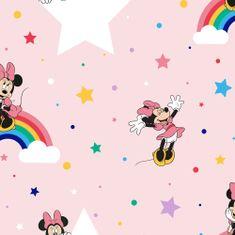 Graham & Brown Dětská papírová tapeta 108592, Rainbow Minnie, Kids@Home 6, Graham & Brown